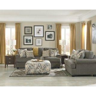 Coulson Smoke Living Room Group Grey Furniture Living Room