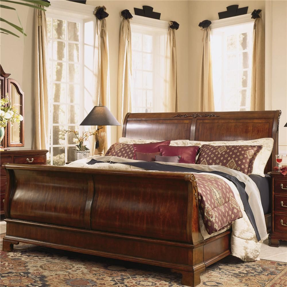Cherry Grove 45th King Sleigh Bed by American Drew