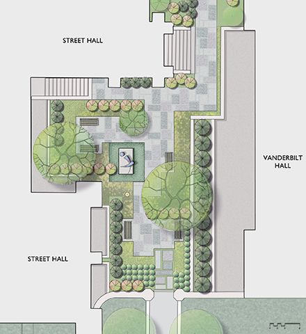 Pocket park yale university art gallery sculpture garden for Equipamiento urbano arquitectura pdf