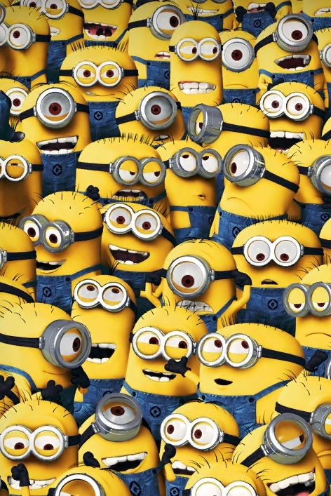 Moi moche m chant les minions choses que j 39 adore pinterest - Mechant minion ...