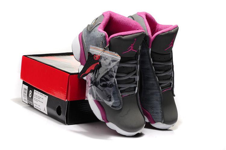 319d32a17eae ... coupon code for air jordan 13 hardback grey pink white shoes 364b4 d138f