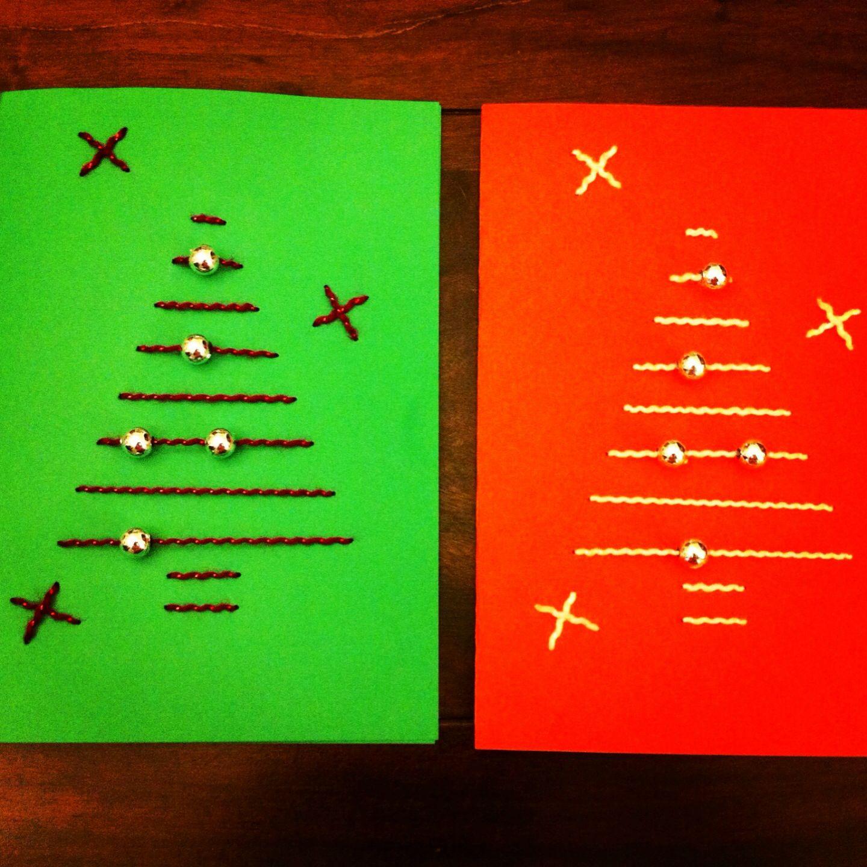 Kerstkaarten voor nieuwjaarsbrieven