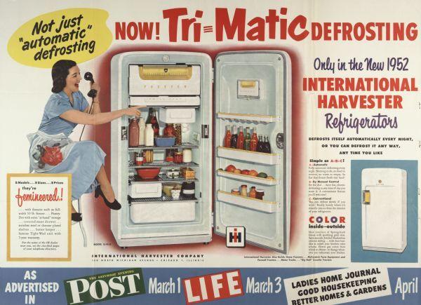 International Harvester Refrigerator International Harvester Vintage Appliances Farmall