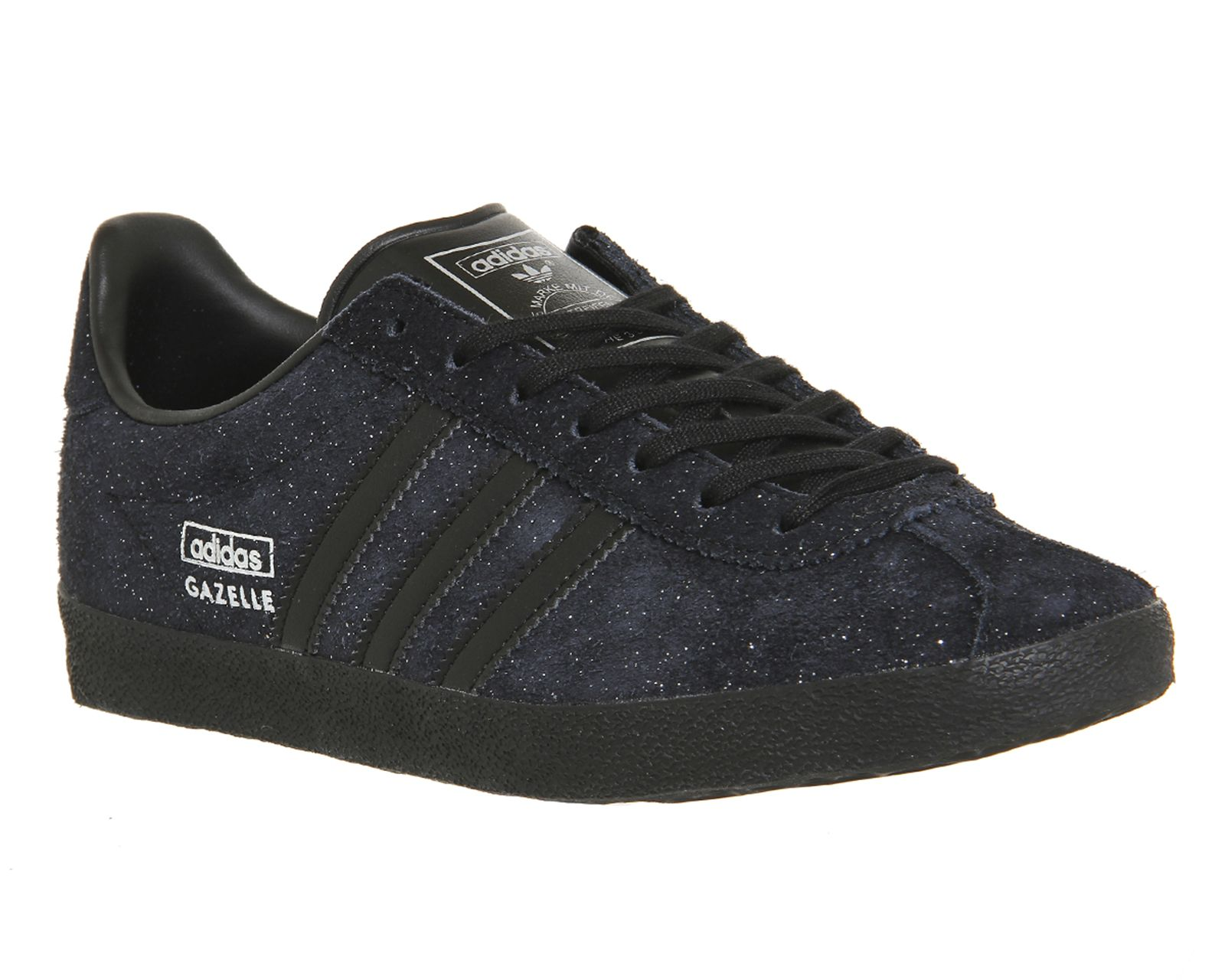 Buy Core Black Silver Metallic Adidas Gazelle Og W from OFFICE.co.uk.