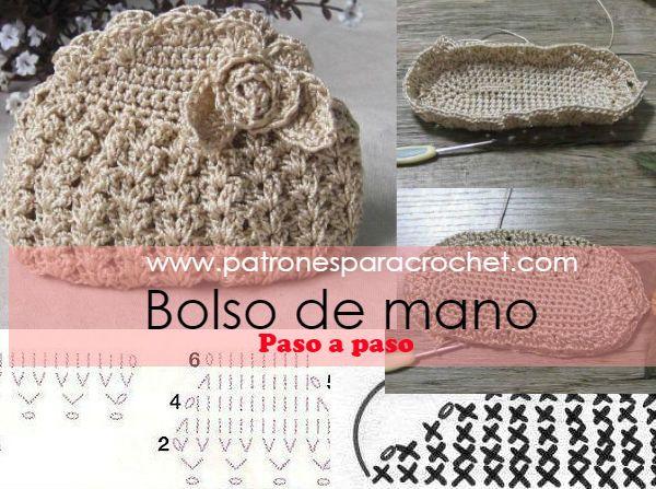 Patrones para Crochet | Crochet y Dos Agujas | Pinterest | Bolsos ...