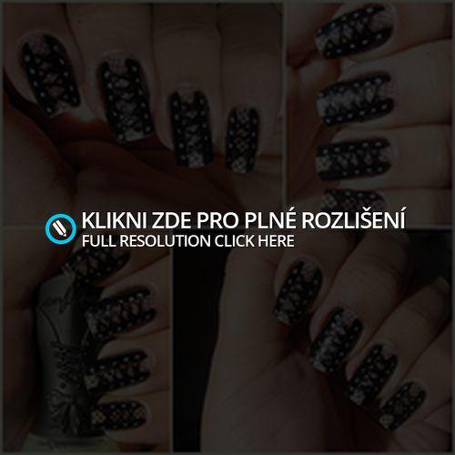 Nail art design - corset | akonanechty