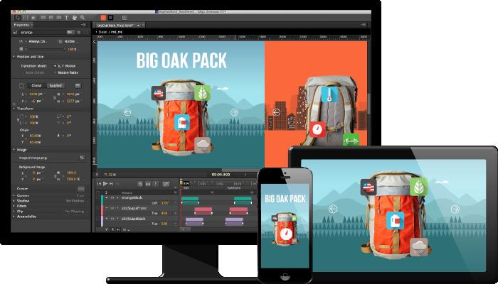Edge Animate lets web designers create interactive HTML