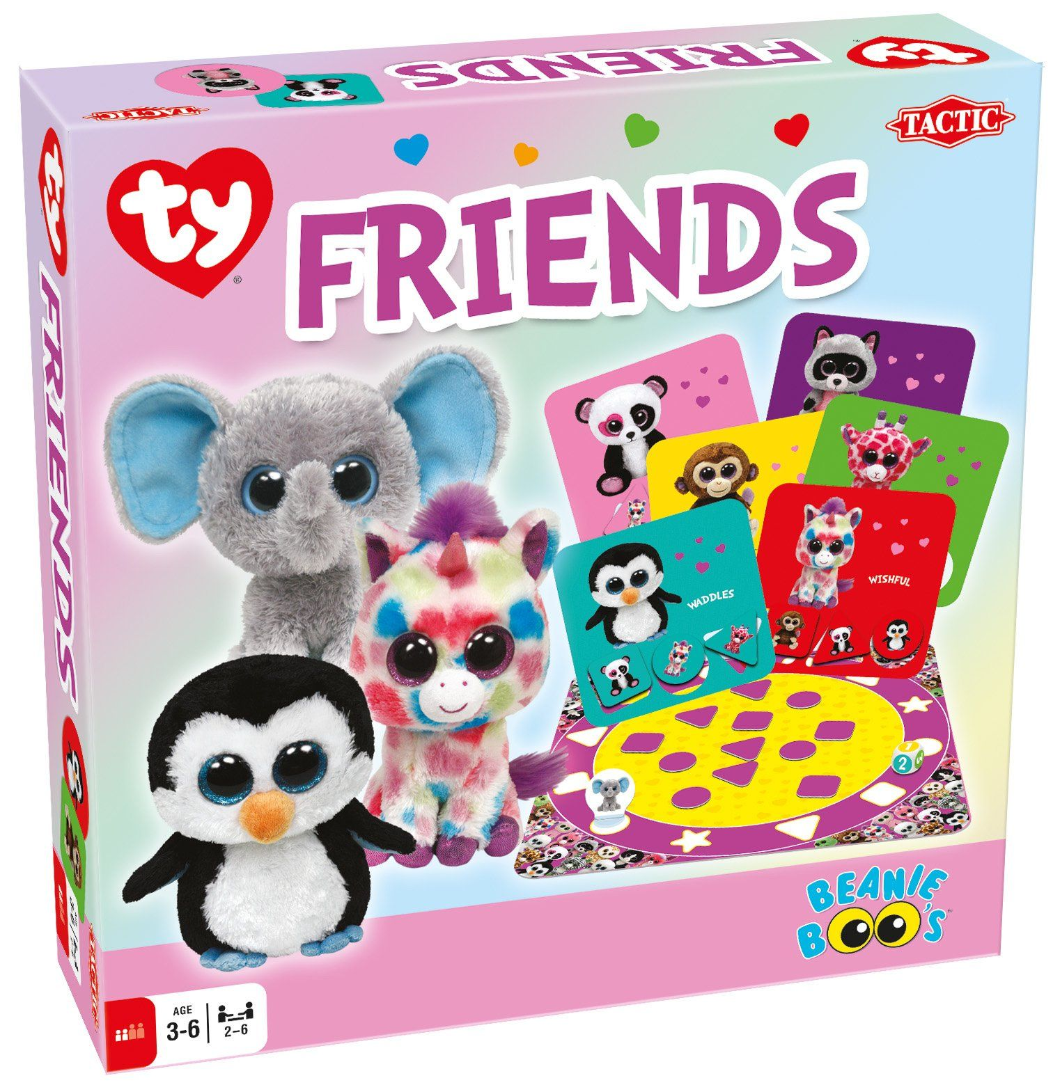 Ty Beanie Boos Friends Board Game Kids Pinterest Beanie Boos