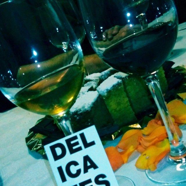 @Turismo Villena @elrabalvillena #VillenaMedieval14 #cata #vinos #fondillon protagonista de la Fiesta del Medievo por @enologate @deliciasvillena delicias para el paladar. Gracias Elena Estevan, Raúl Domene, Pablo Martínez.