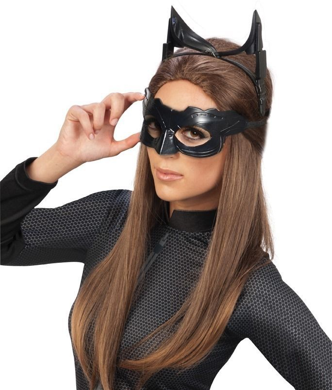 SEXY Adult CATWOMAN MASK & EARS Costume Kit * FAST SHIP * cat ...
