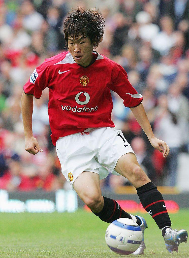 MANCHESTER, ENGLAND - SEPTEMBER 10: Ji Sung Park of