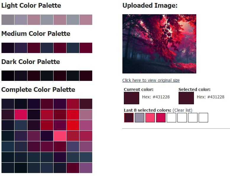 6 Awesome Color Palette Generators Egrappler Color Palette Generator Color Palette Dark Color Palette