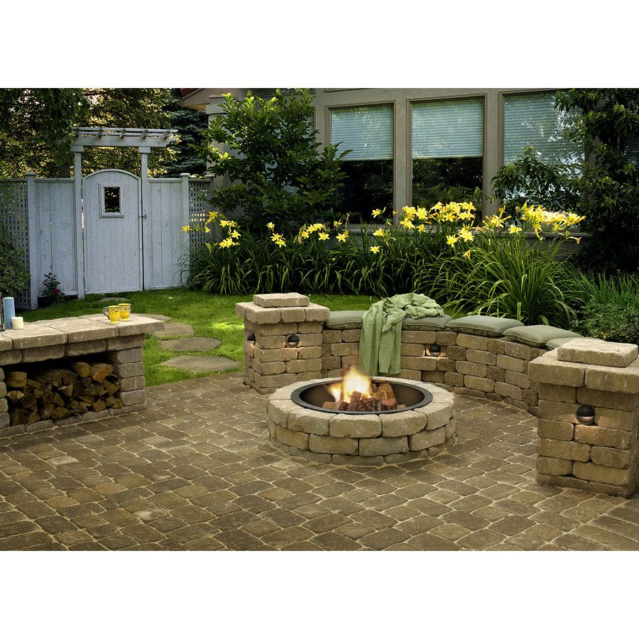 shop tranquil flagstone retaining wall block common 11 on wall blocks id=45866