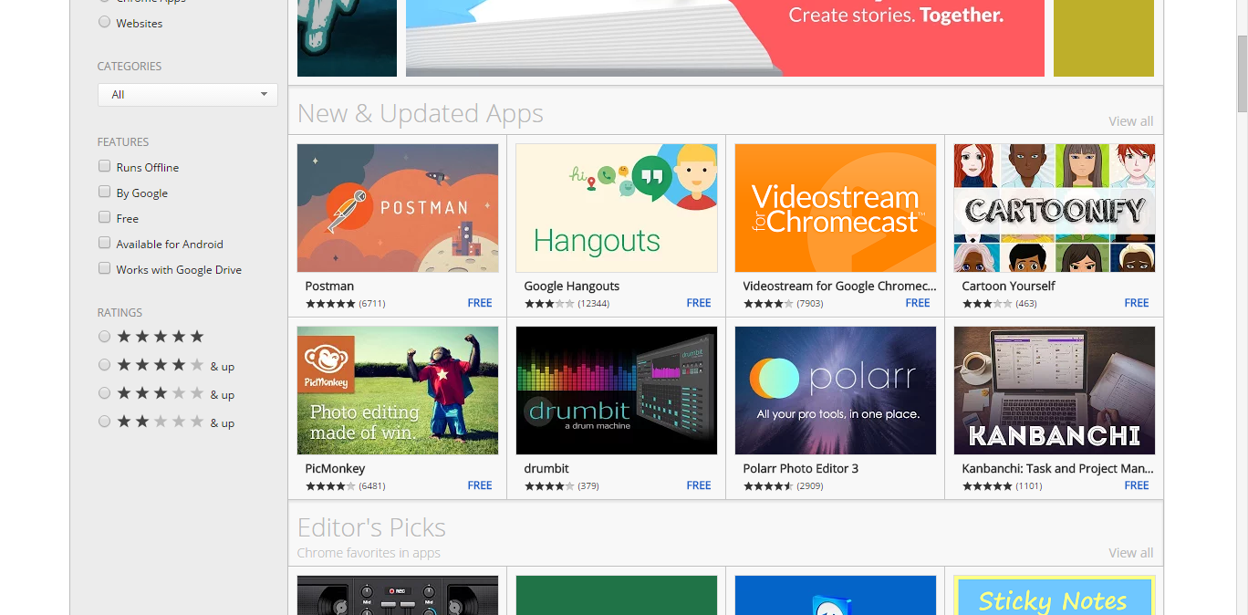 Chrome Web Store Chrome web, Web store, Google hangouts