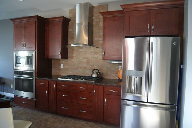 $998 10x10 kitchen cabinet set. Chestnut Series from Door Clearance ...