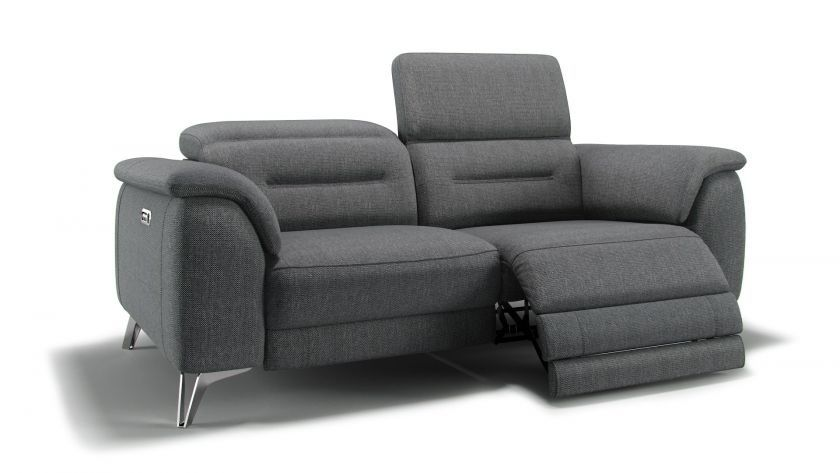 2 Sitzer Sofa Mit Relaxfunktion Stoff