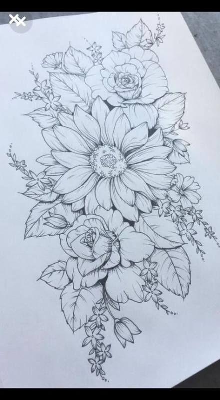 Tattoo Sleeve Ideas Color Flower 36 Trendy Ideas | Colored flower tatt
