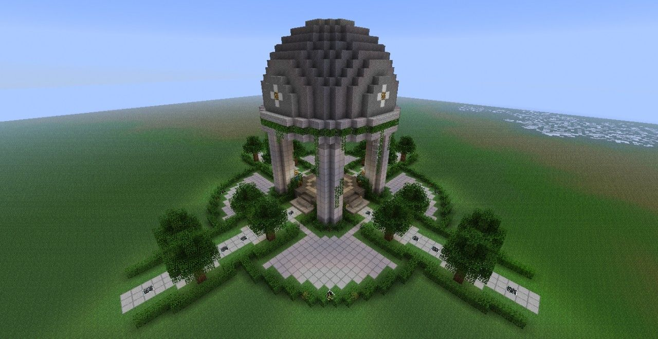 Modern Server Spawn Minecraft Project MINECRAFT GARDENS