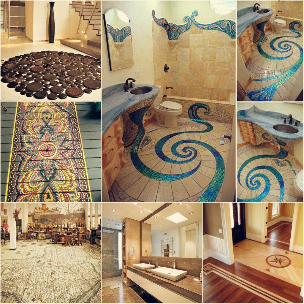 Amazing floor design ideas for homes indoor and outdoor