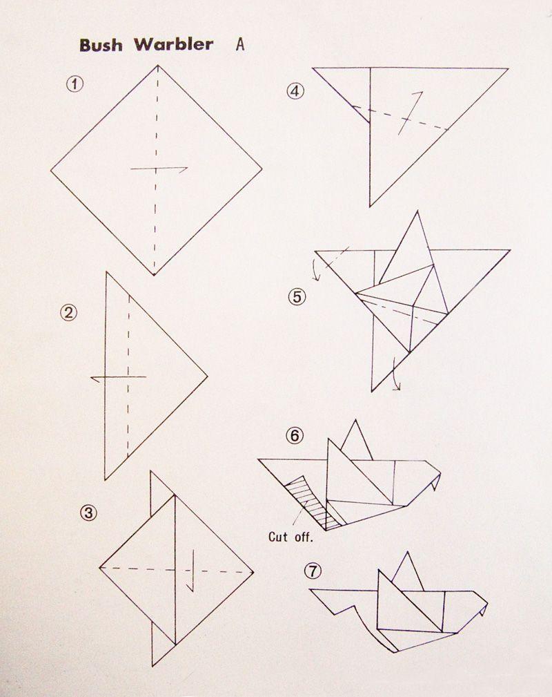 Simple origami bird instructions kids tu bishwat pinterest simple origami bird instructions jeuxipadfo Gallery