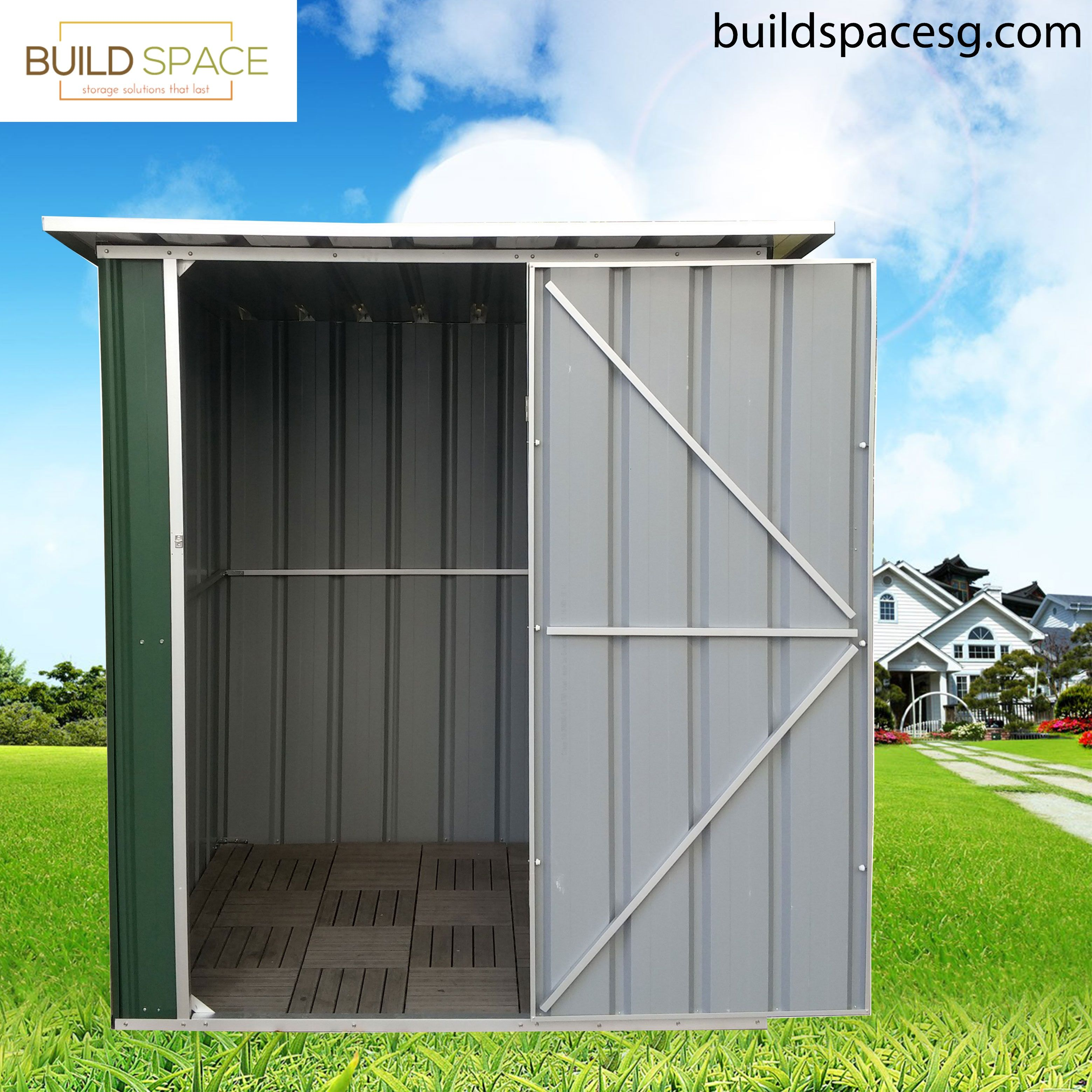 12 Quality Garden Sheds Singapore Ideas Steel Panels Rust Resistant Stainless Steel Fasteners