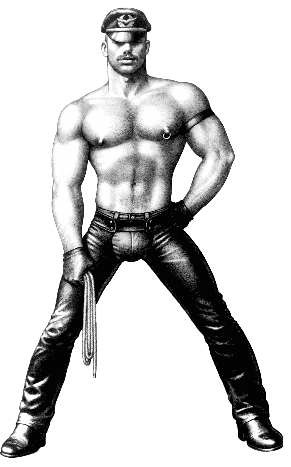 Tom Of Finland's Hypermasculine Gay Images In The Pleasure Of Play