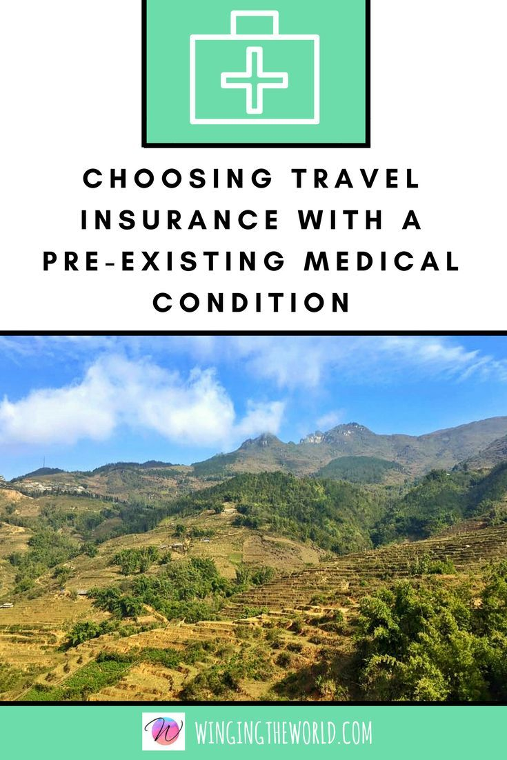 Choosing travel insurance when you have a pre-existing ...