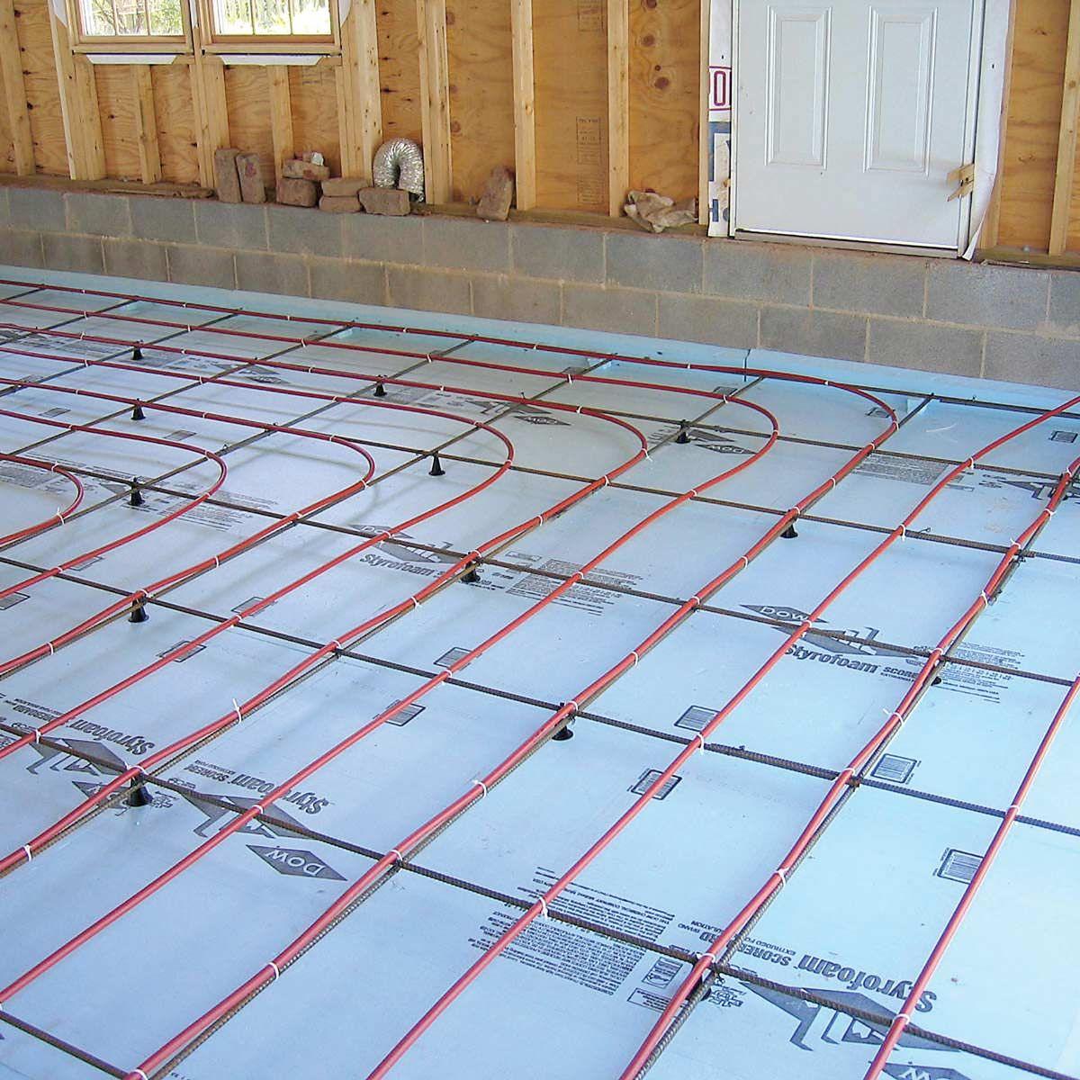 12 Best Ways To Heat A Garage In The Winter Garage Floor Plans