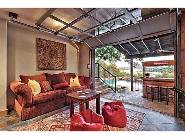 Bar Area In Garage Google Search Garage House Plans