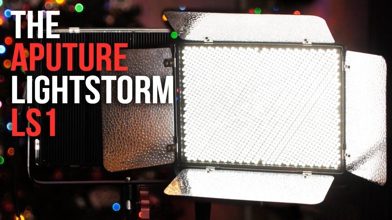 The Aputure Lightstorm LS1 LED Review: Affordable Pro-Film Lighting ...
