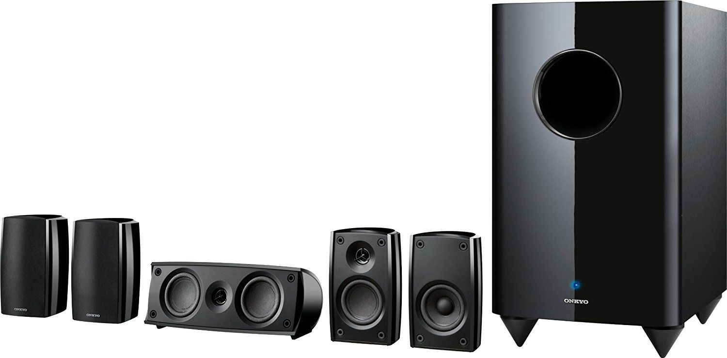 Onkyo SKS-HT690 5 1-Channel Home Theater Speaker System