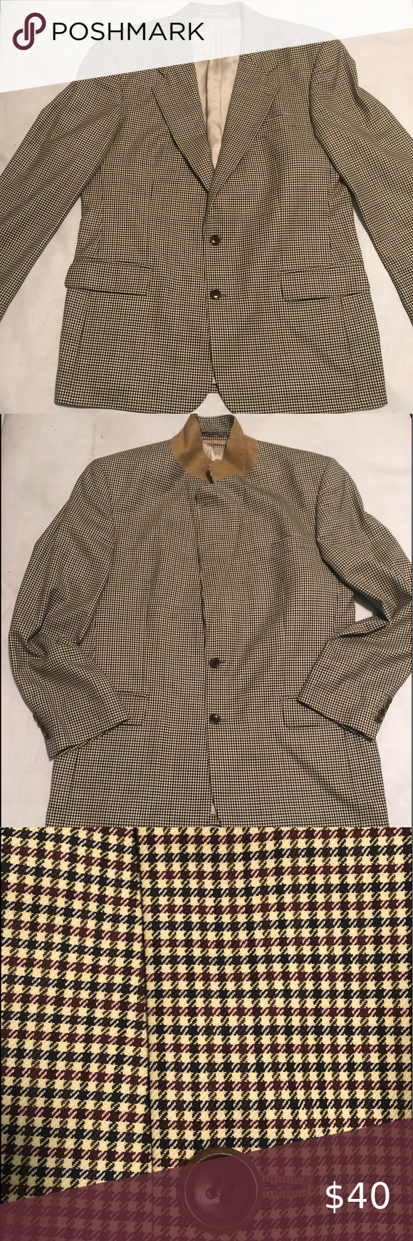 Hugo Boss Men's Corleone Wool Blazer Sport Coat in 2020