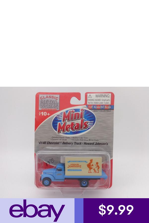Classic Metal Works Ebaymodel Train Vehicles Toys Hobbies