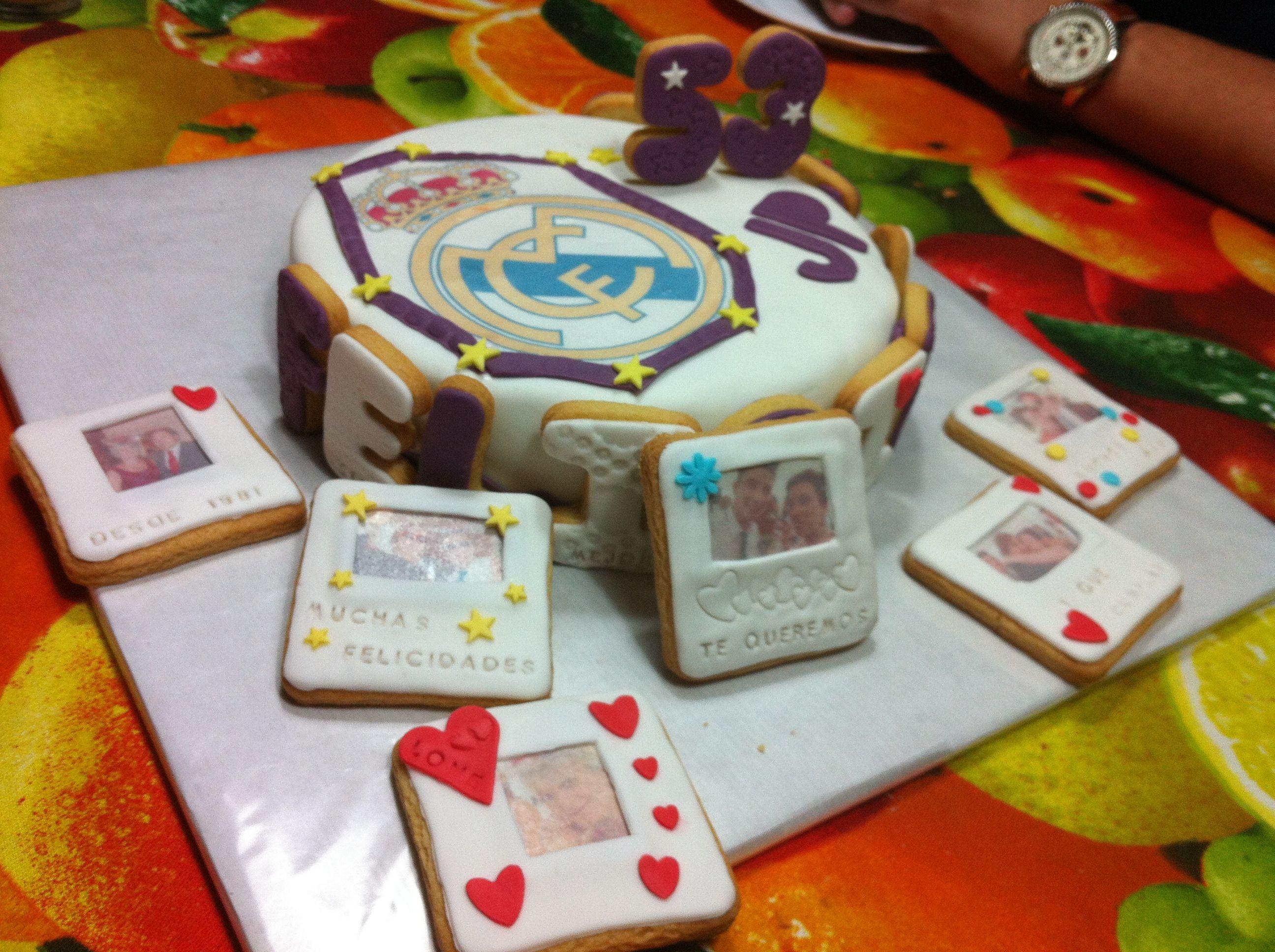 Real madrid cake, happy birthday, un cumpleaños muy especial