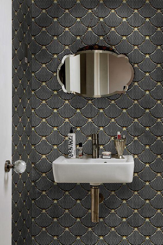 Echelle wallpaper wallcovering wetsystem bathroom for Salotti bellissimi