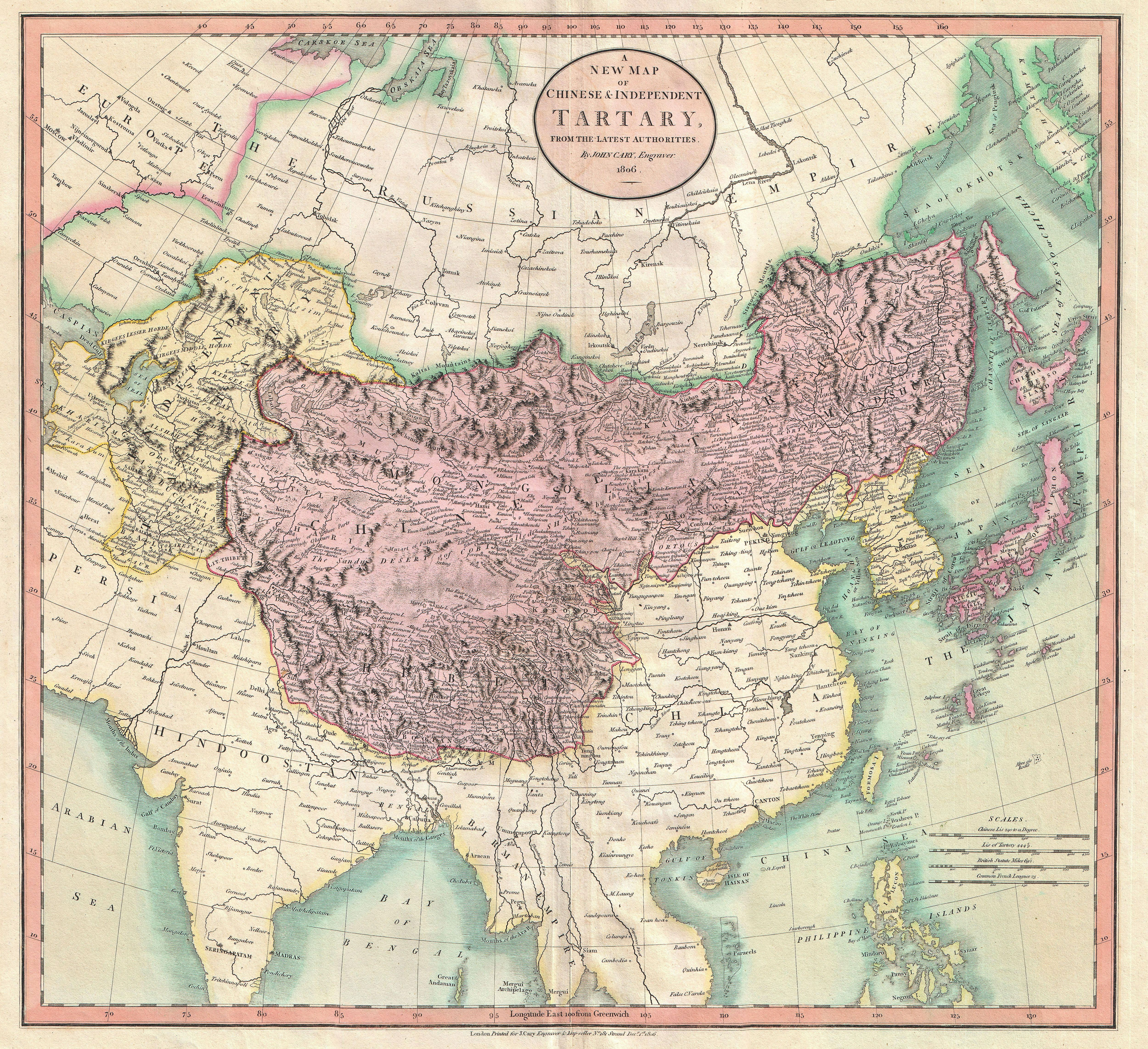 19 google keress retro pinterest a new map of chinese independent tartary by john cary gumiabroncs Gallery