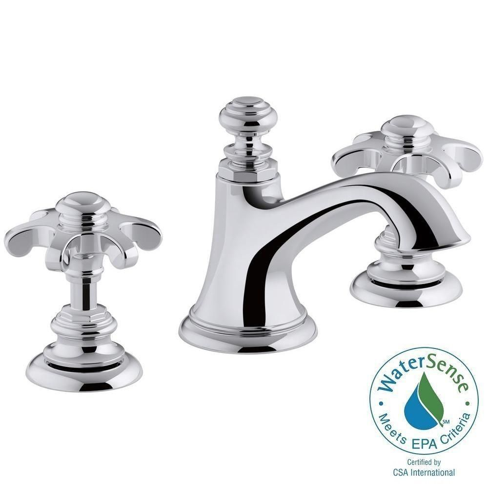 Kohler Artifacts 8 In Widespread 2 Handle Bell Design Bathroom