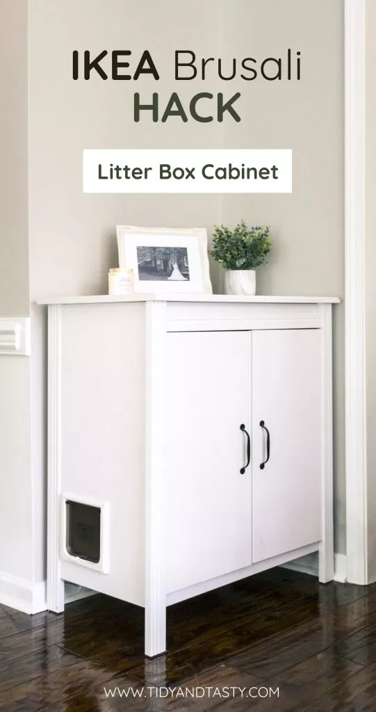 Ikea Brusali Hack Litter Box Cabinet Tidy And Tasty Litter Box Furniture Diy Litter Box Cat Litter Box Furniture