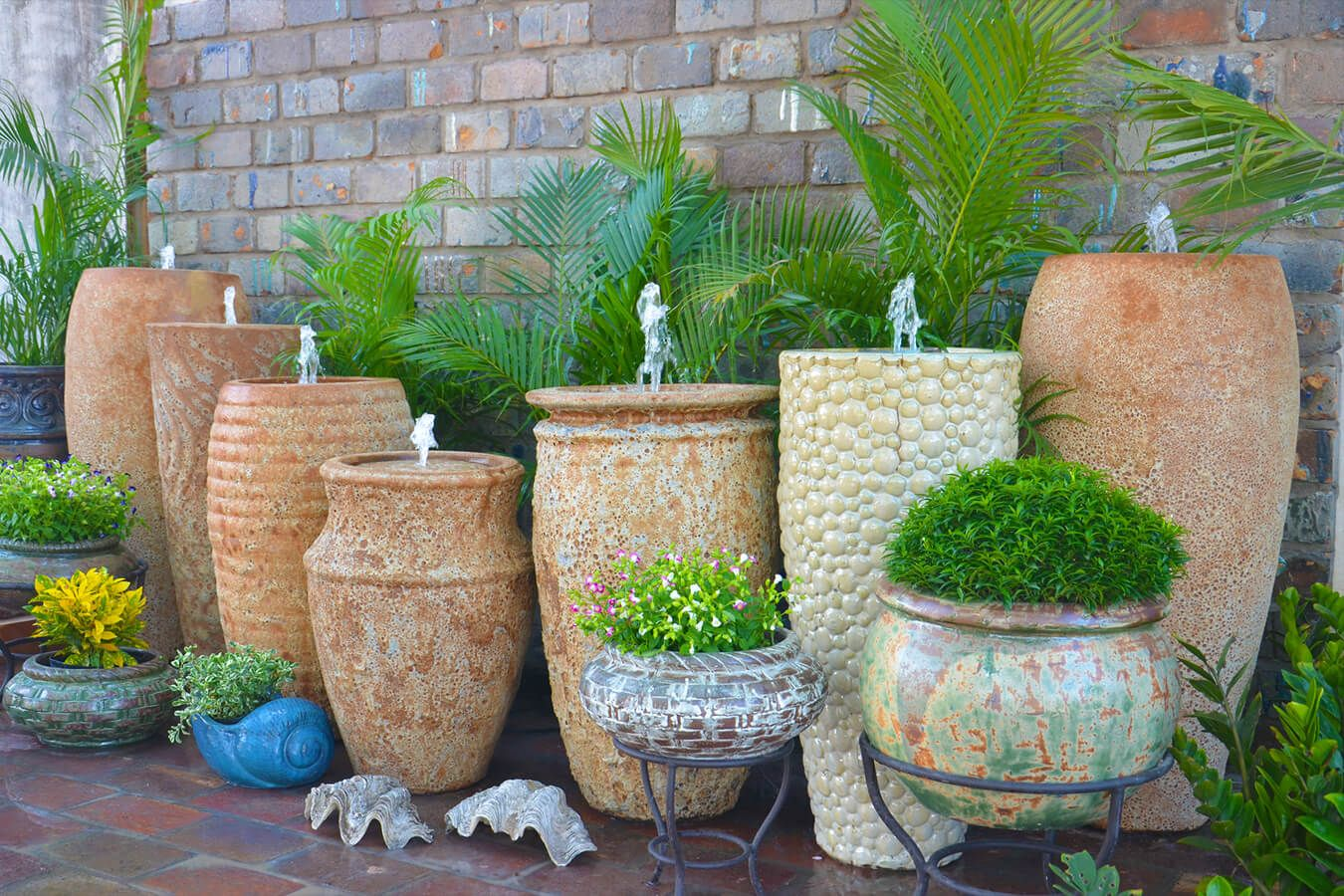 Where To Buy Large Pots For Plants Part - 20: Wholesale Vietnamese Garden Pottery, Large Pots, Outdoor Planters Vases And  Urns, Pot Fountains