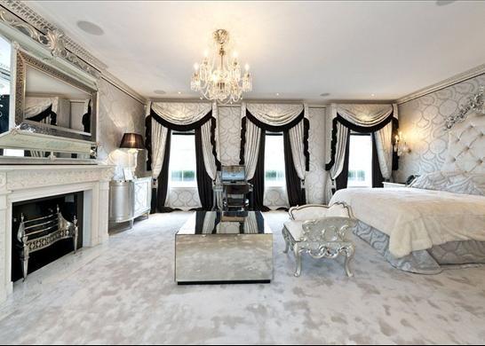 petra ecclestone london house interior - Google Search Home - teppichboden für schlafzimmer