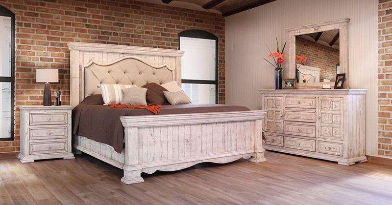 Bella Rustic Bedroom Set With Images Rustic Bedroom Sets