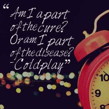Think And Speak Peace Coldplay Lyrics Coldplay Clocks Lyrics Lyrics
