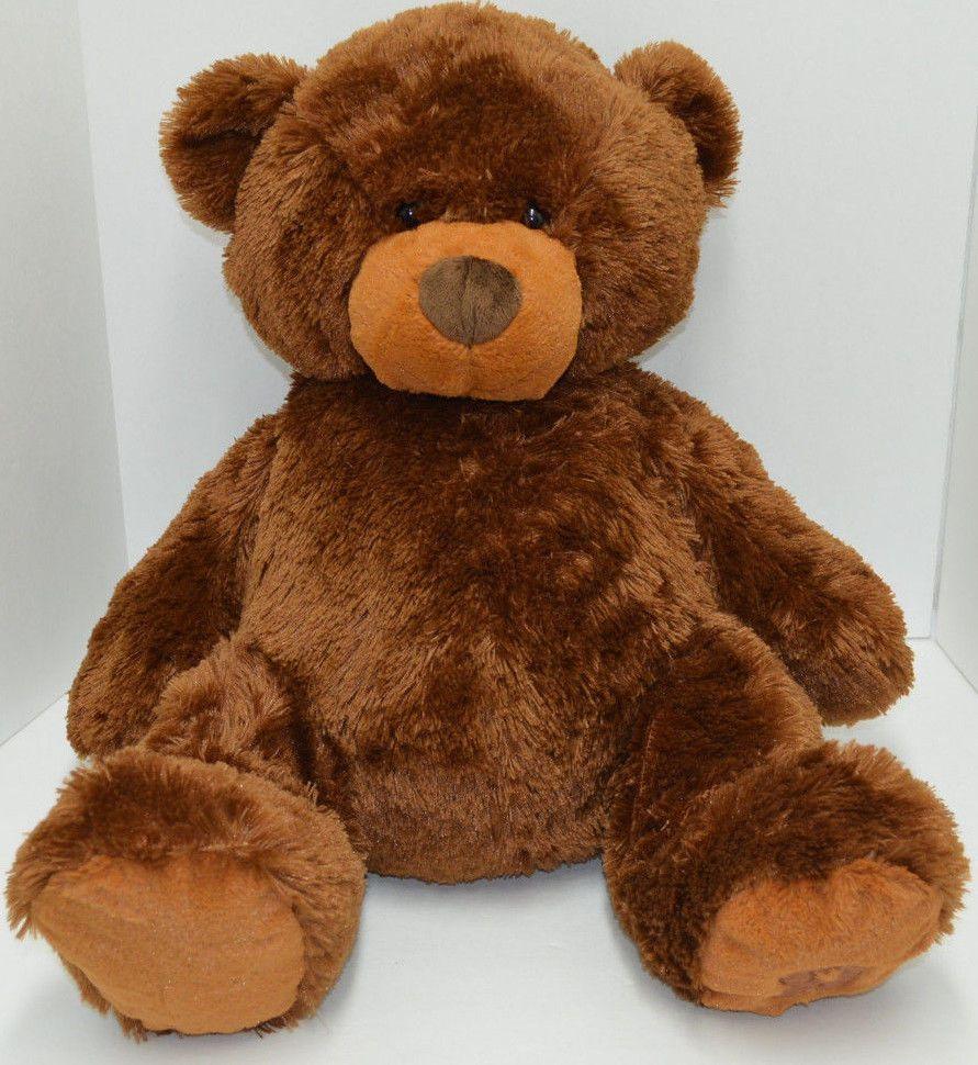Toys R Us Brown Teddy Bear Plush Stuffed Animal 2009 Big
