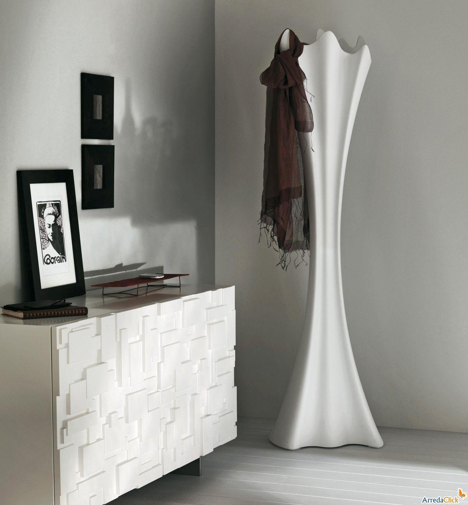Appendiabiti design con luce Sipario realizzato in polietilene ...