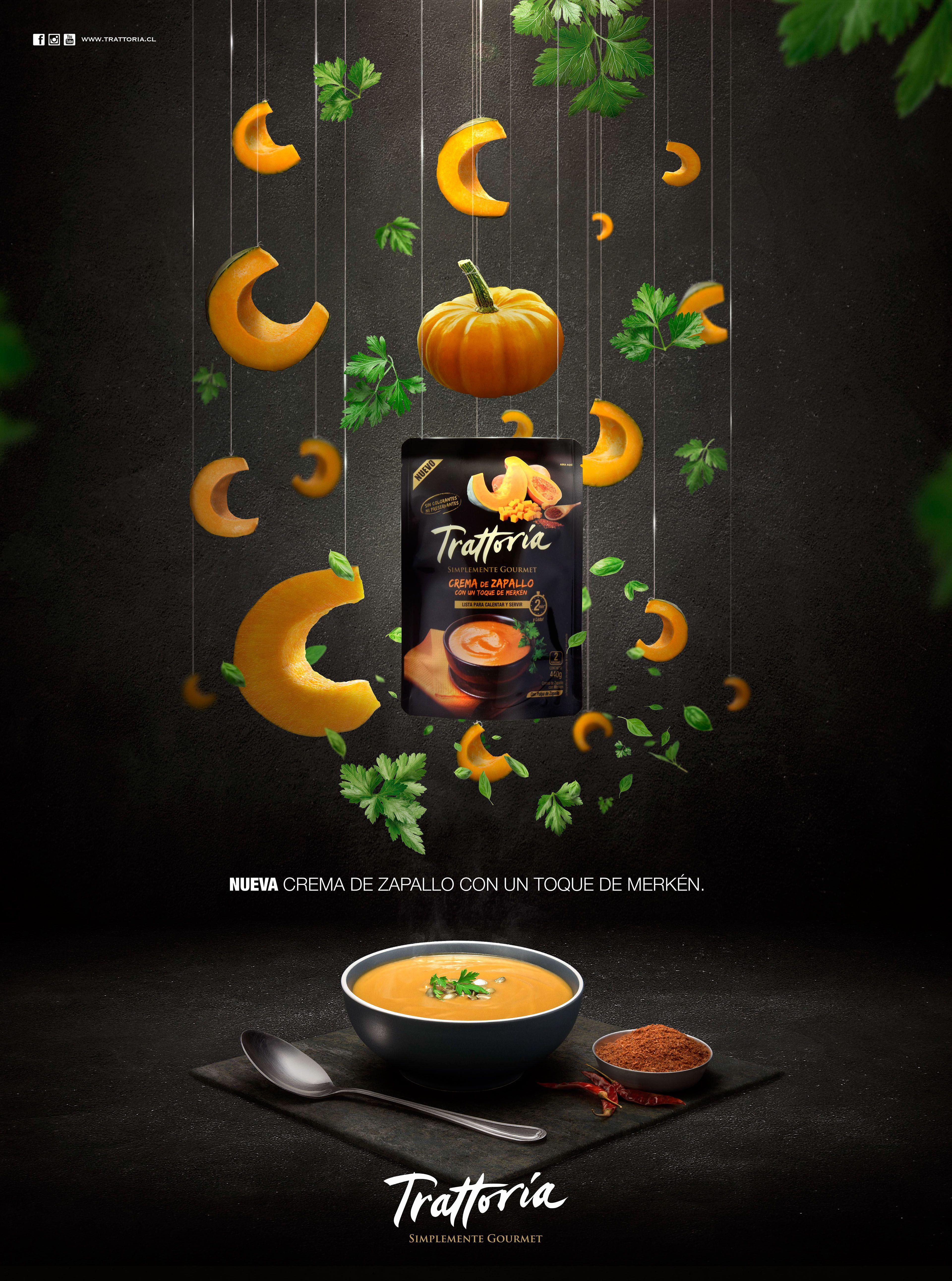 Cremas Trattoria on Behance | Food graphic design, Graphic ...