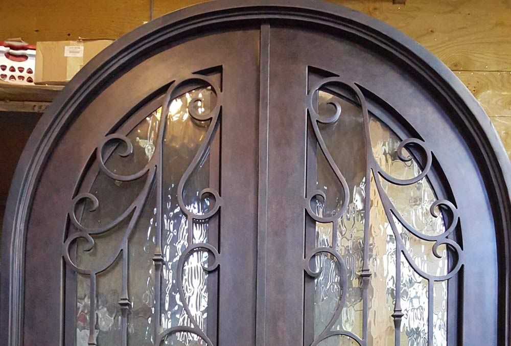 Double Iron Doors In Houston Texas Custom Http