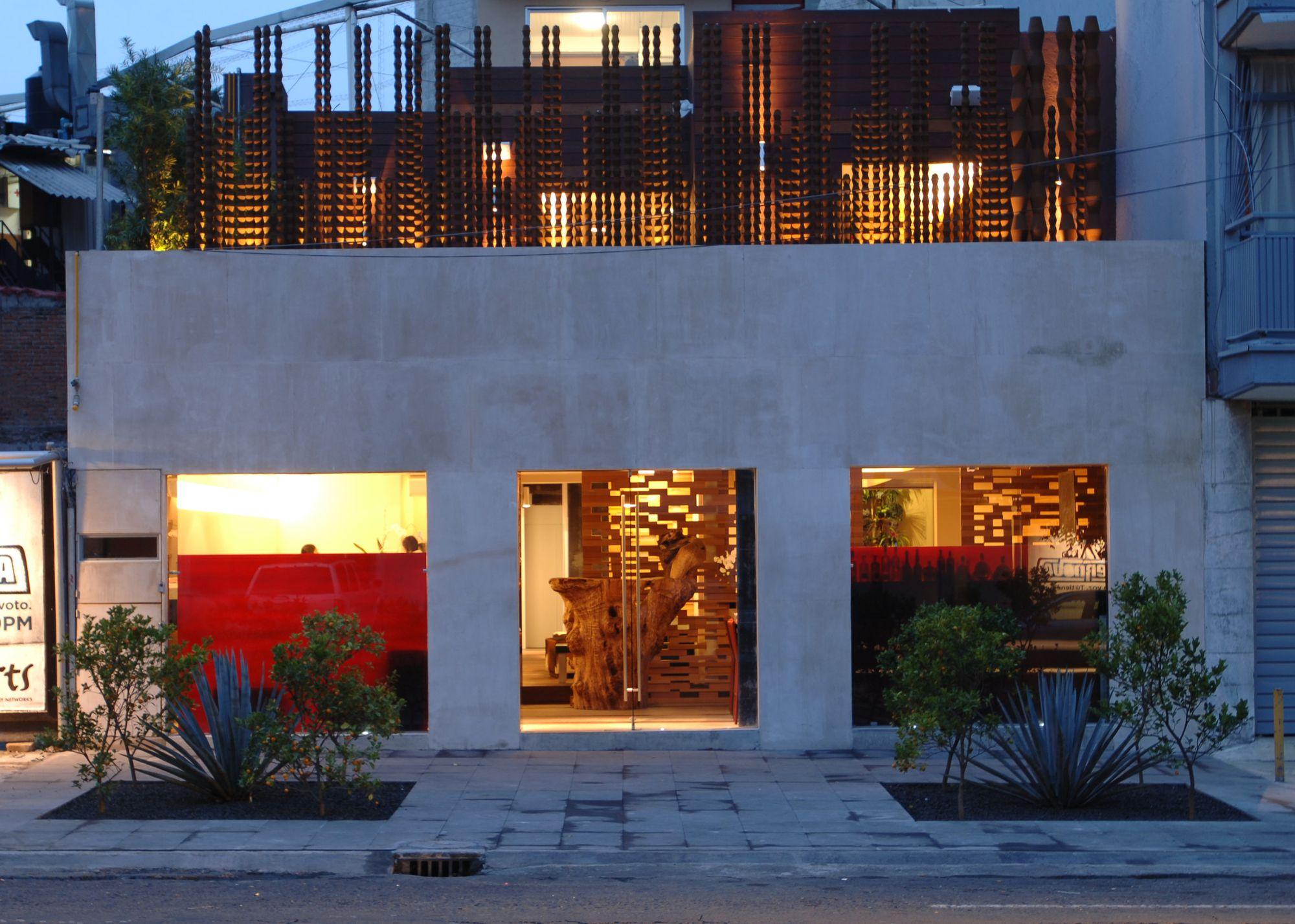 Restaurante Jaso / Serrano Monjaraz Arquitectos