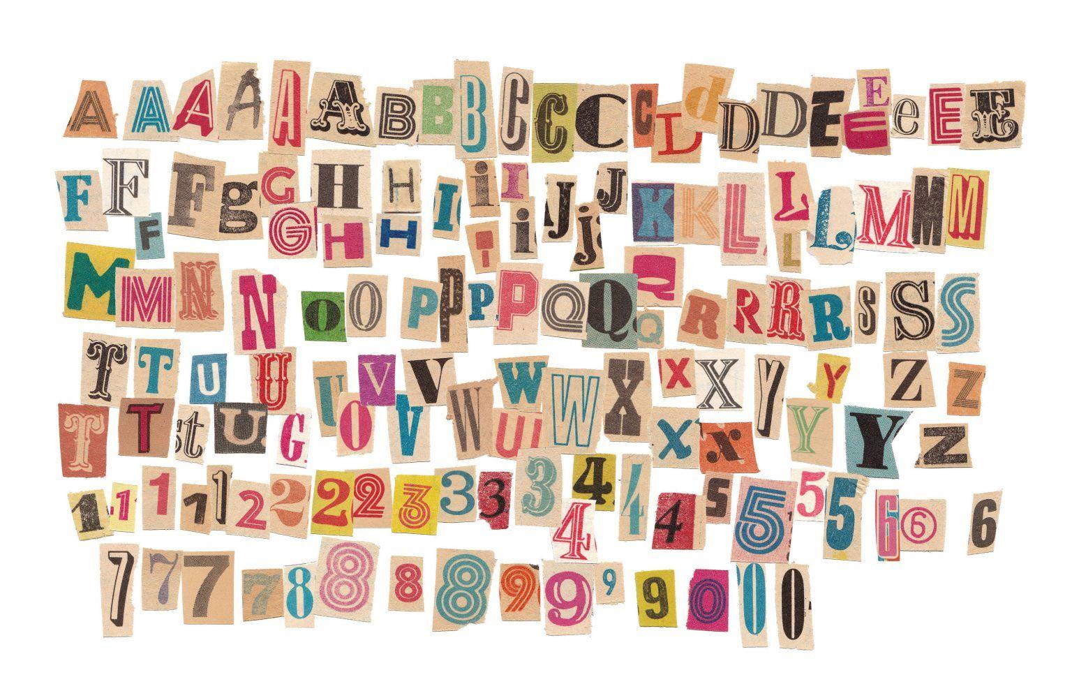 142 Retro Magazine Cutout Letters Png Transparent Onlygfx Com Letter Collage Vintage Lettering Altered Book Art