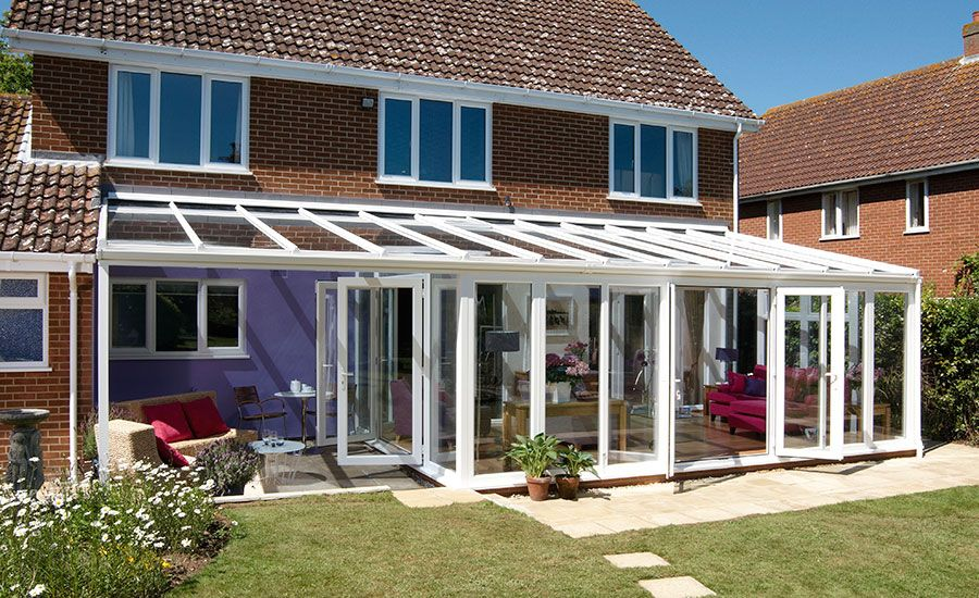 Veranda, Great Alone Or As Conservatory Add-On | Anglian Home