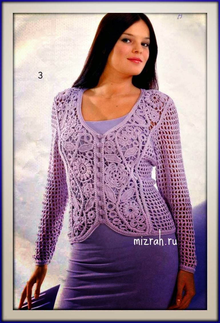 tejido al crochet | CROCHET IRLANDES | Pinterest | Irisch